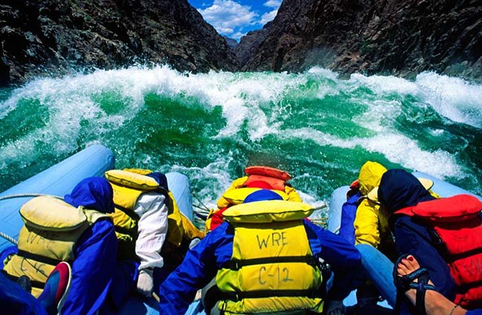 adventure vacations rafting